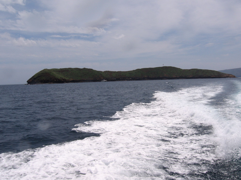 Molokini from the dive boat