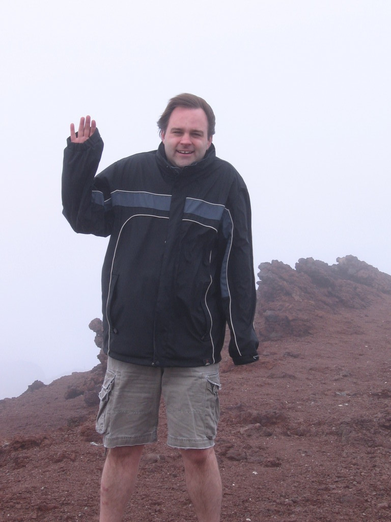 Brandon at Haleakala