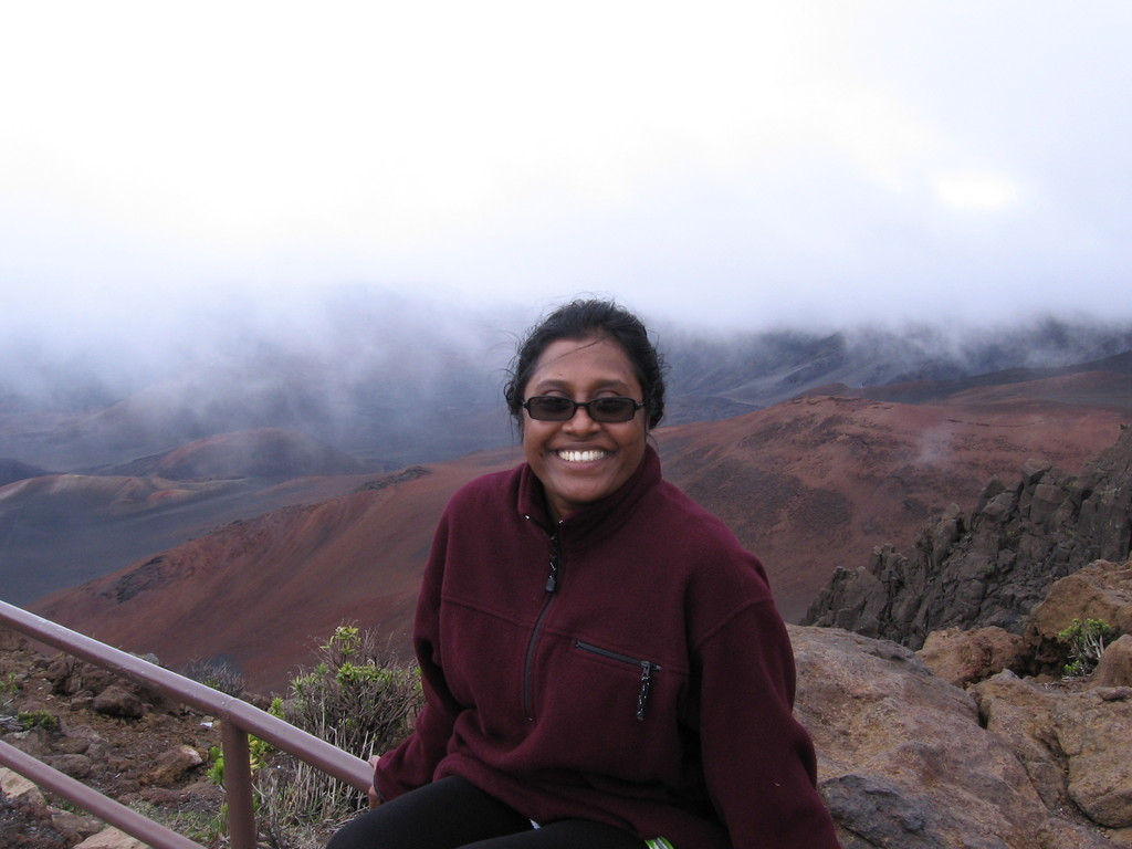 Premila at Haleakala